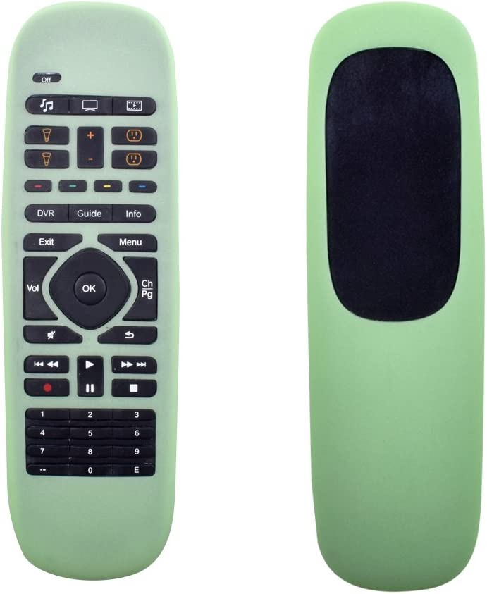 Silicone Protective Case Cover for Logitech Harmony Companion Remote/Logitech Harmony Home Control Case-Green