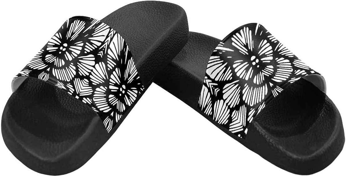 INTERESTPRINT Indoor Outdoor Womens Casual Sandals US6-US12
