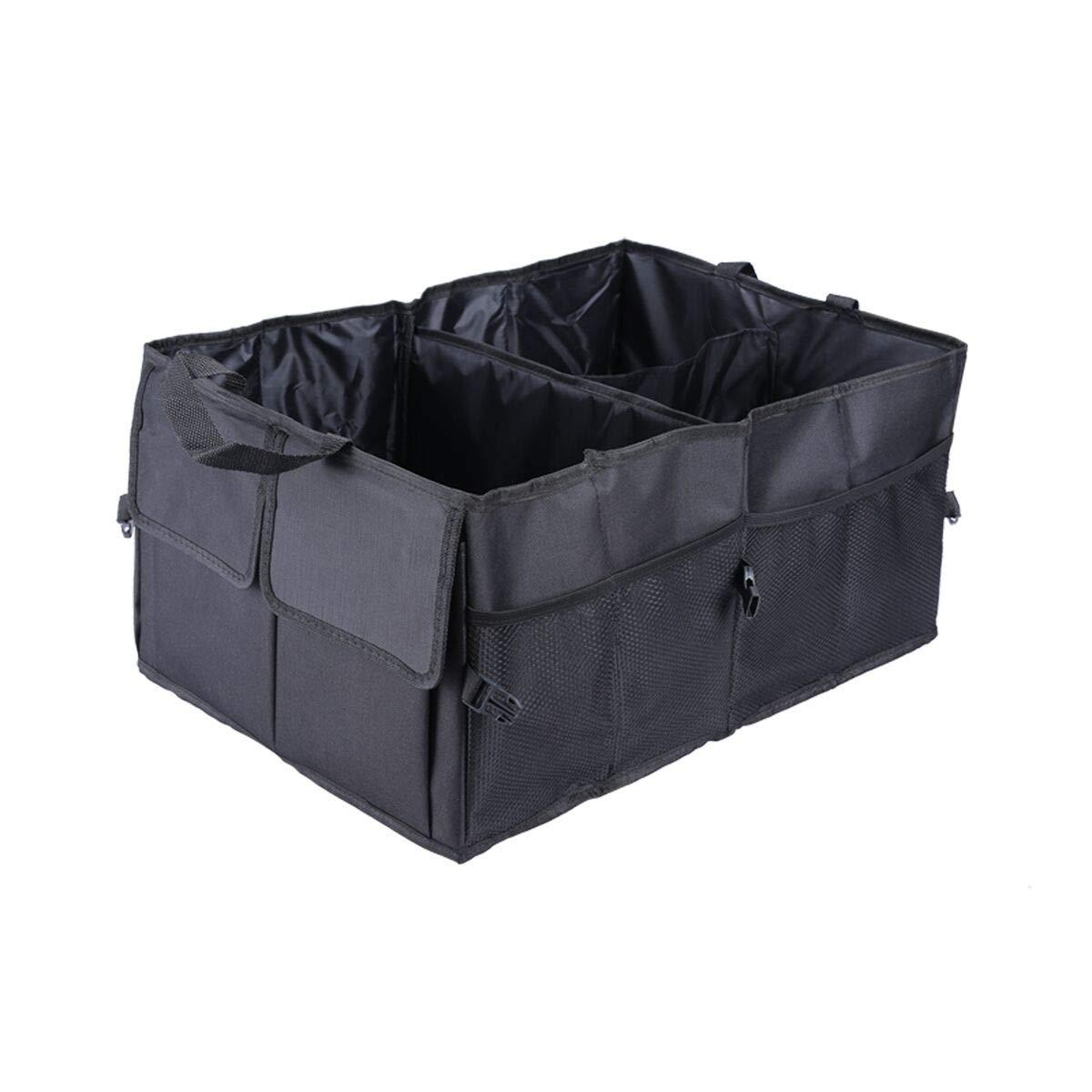 Trunk Organizer Foldable Car Storage Bag Collapsible Cargo Box Portable SUV