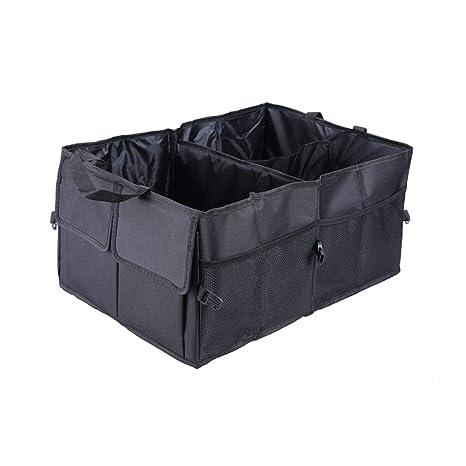 Cargo Box For Suv >> Car Trunk Storage Organizer Compartment Collapsible Portable Storage Cargo Box For Suv Auto Truck Nonslip Waterproof Bottom