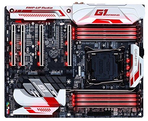 Gigabyte GA-X99-Ultra Gaming (rev. 1.0) Intel X99 LGA 2011-v3 ATX - Placa base (DIMM, DDR4-SDRAM, Cuadrángulo, Intel, Core i7 Extreme Edition, LGA 2011-v3)