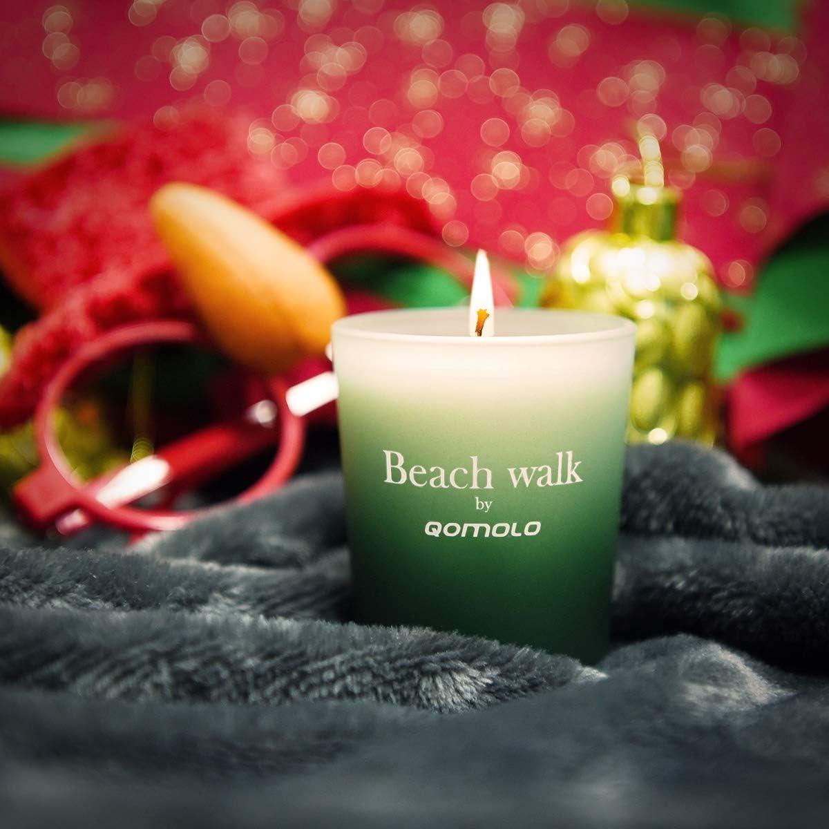 Hochzeit und Weihnachten Geschenk f/ür die Aromatherapie Verpackung f/ür Geburtstag DLOPK Duftkerzen Set mit 6 Duftkerzen aus 100/% nat/ürlichem Wachs von Soja Duftkerzen