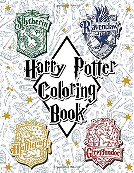 Harry Potter Coloring Book Hendrick Harry 9781698271859 Amazon Com Books