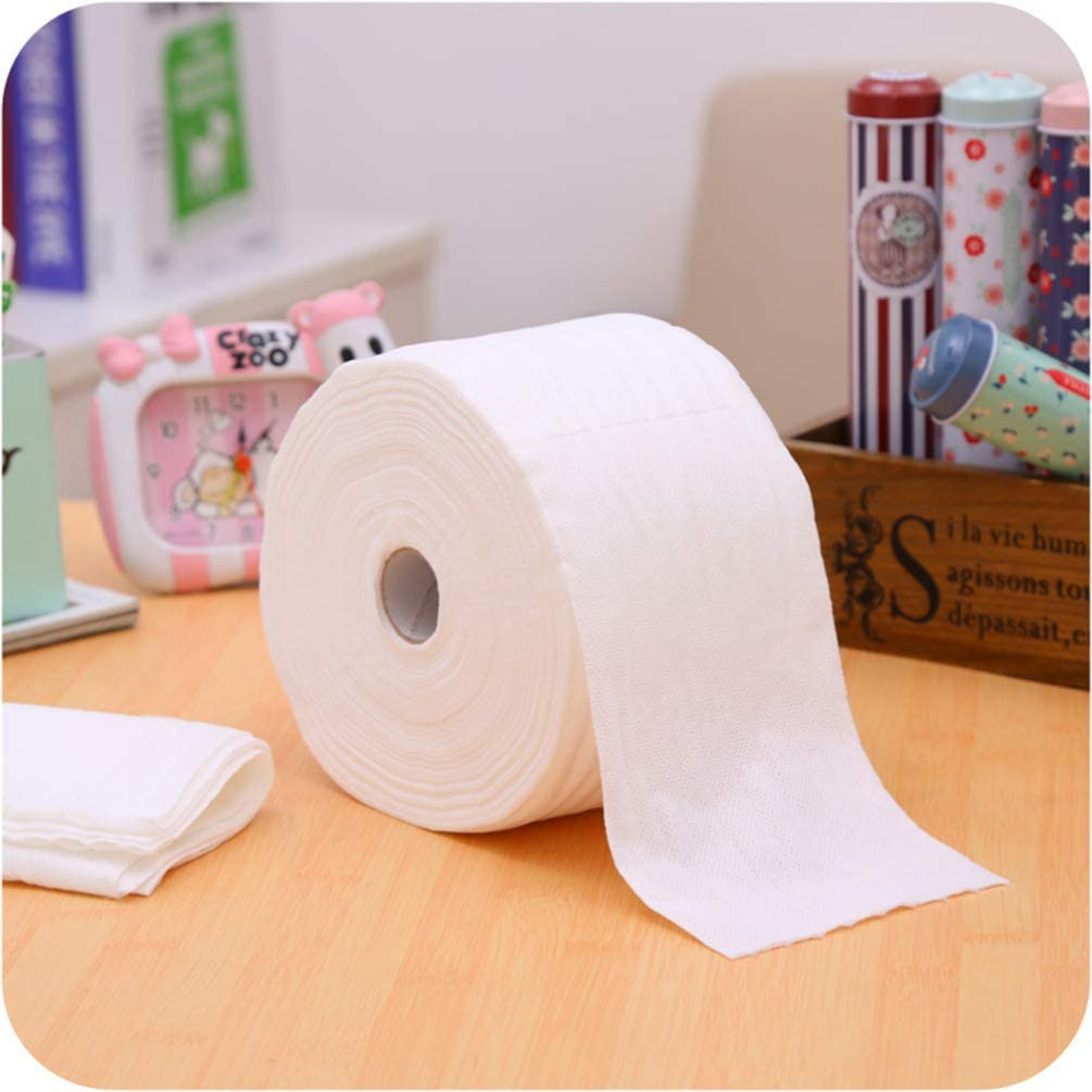 Minkissy 1 Roll Gauze Pads Non Woven Cotton Gauze Sponge Cushion Wound Care Dressing Pads First Aid Surgical Making Supplies