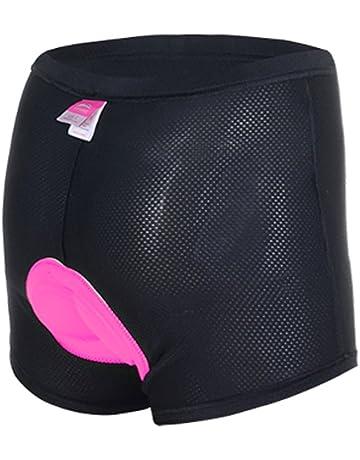 ANGTUO sous-vêtements rembourrés de Bicyclette Tricots 3D pour Femmes  Pantalons Antichoc avec Haute perméabilité 4a47e1a02d8