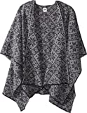 Dale of Norway Women's Rose Shawl C-Navy/Light Charcoal One Size