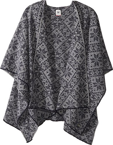 Dale of Norway Women's Rose Shawl C-Navy/Light Charcoal One Size by Dale of Norway