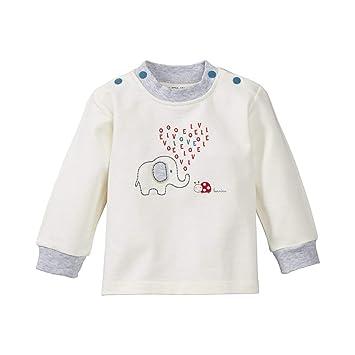 Schnizler Unisex Baby Sweatshirt Langarmshirt Elefant