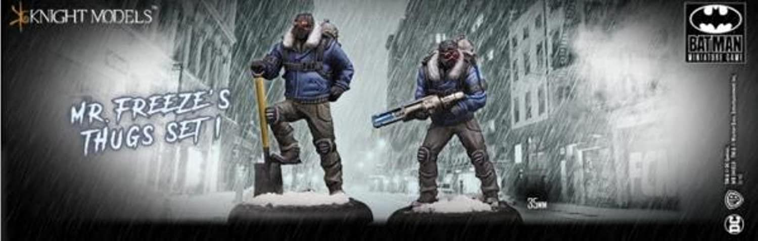Batman Miniature Game: Mr. Freeze Thugs Set 1