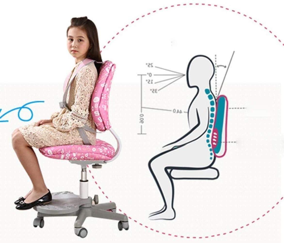 Barstolar Xiuyun kontorsstol spelstol datorstol korrigeringsbord lyftbord hållning student säte hem arbetsrum skrivbord stol barn lärande svängbar stol 8 färger (färg: E) a