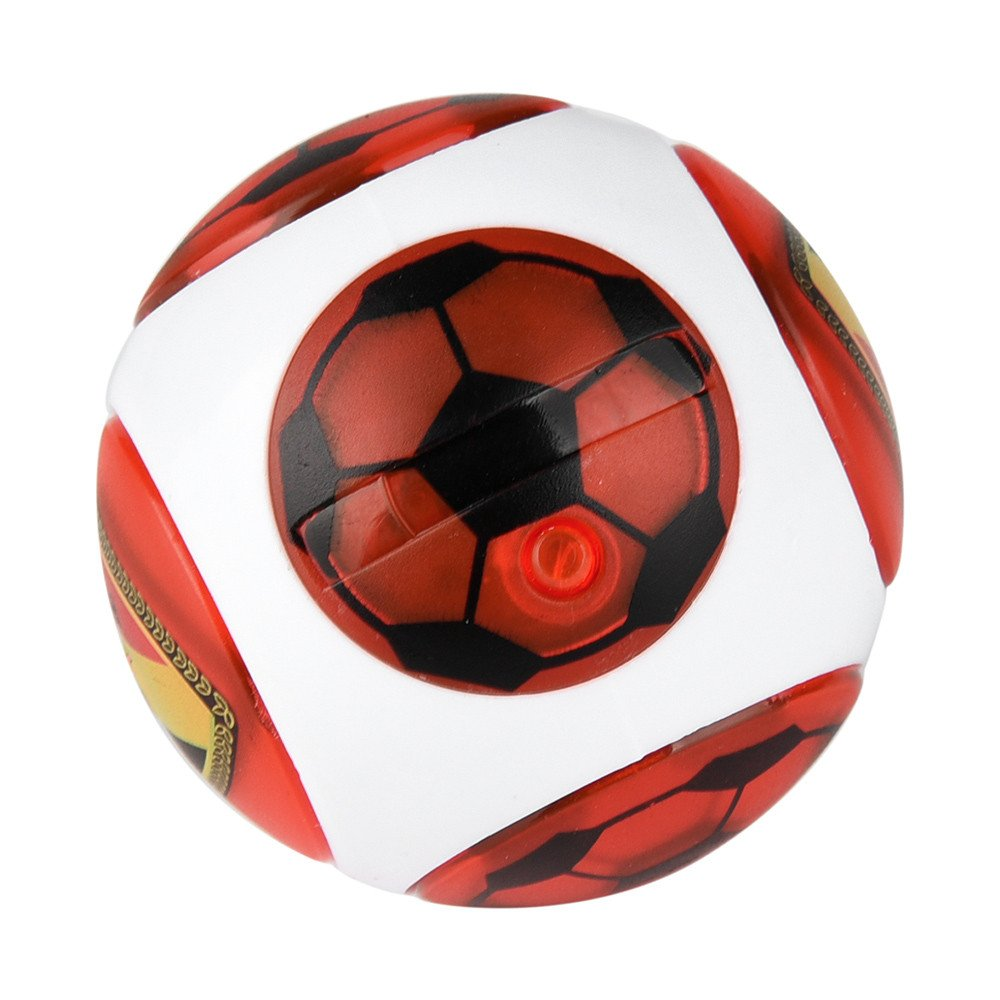 Led Speed Magneto Spheres,Wyurhjh® Flashing Spinning Magnetic Ball Light Up Finger Globular Magic Toys for Child Kid Xmas Gift (Green)