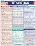 img - for Statistics Laminate Reference Chart: Parameters, Variables, Intervals, Proportions (Quickstudy: Academic ) Lam Crds by BarCharts, Inc. (2005) Pamphlet book / textbook / text book