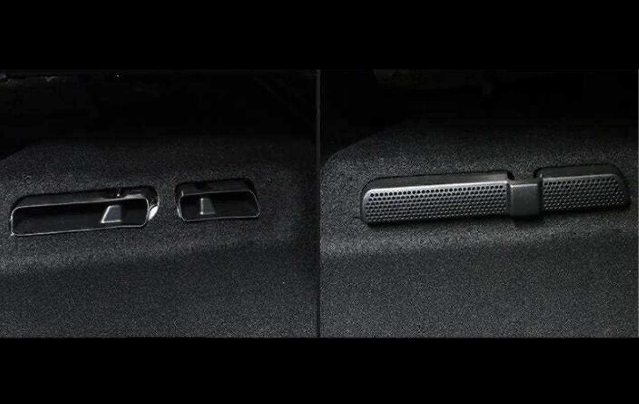 Auto Air Vent Abdeckung F/ür Tiguan L R/ücksitz Klimaanlage Outlet Abdeckung 2 St/ück