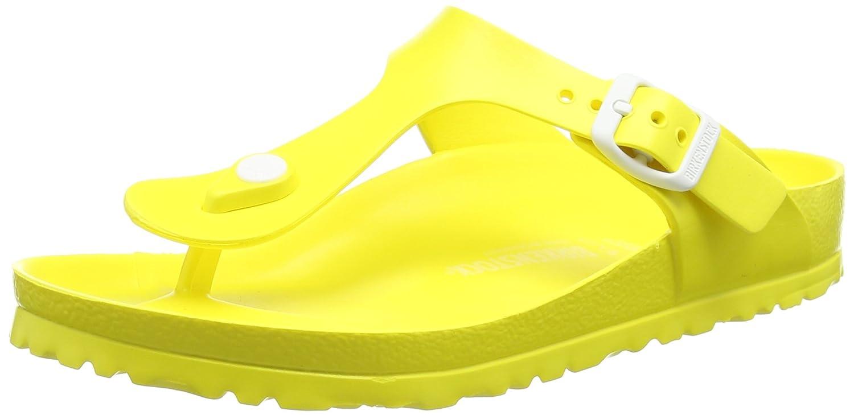 BIRKENSTOCK Classic GIZEH EVA Damen Zehentrenner  37 EU|Gelb (Neon Yellow)