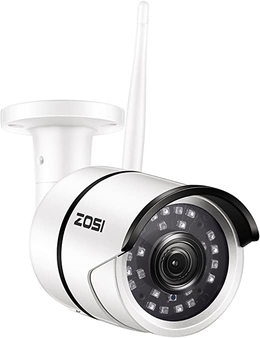 Amazon.com: ZOSI Cámara de vigilancia WiFi 1080P HD para ...