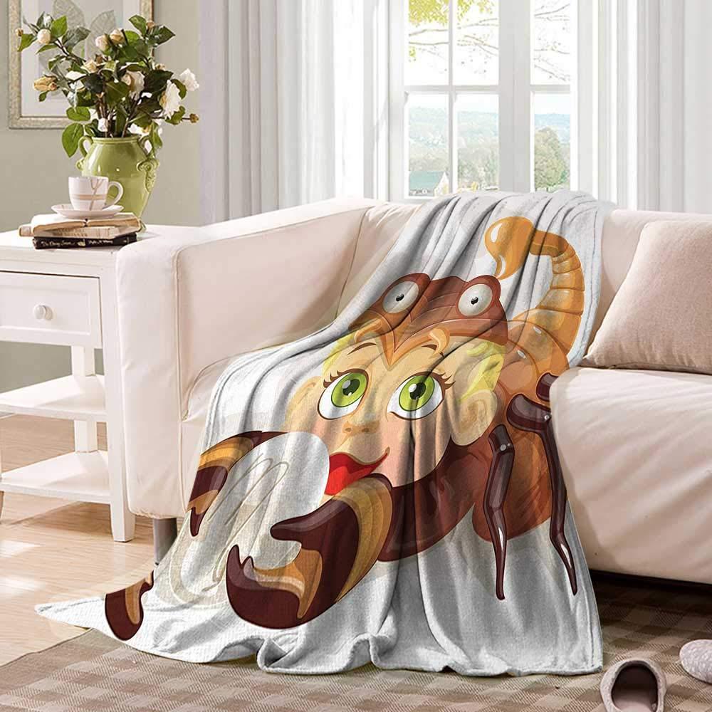 Amazon com: AstrologyDouble Personal blanketLittle Scorpio