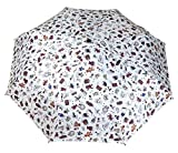 Generic Portable Auto Open Rain Umbrella Size 68inch Color White