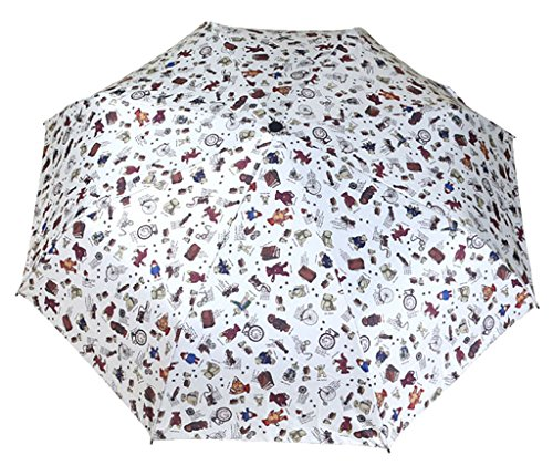 Generic Portable Auto Open Rain Umbrella Size 68inch Color White by Generic