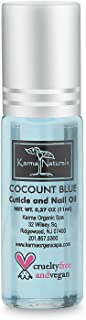 product image for Karma Organic Coconut Cuticle Oil - Vitamin E Enriched Treatment for moisture and softness - Manicure Nail and Skin Care Nourish, Soothe & Moisturize, Cruelty Free 100% Pure