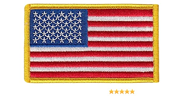 CALIFORNIA USA FLAG PATCH BADGE IRON ON NEW EMBROIDERED