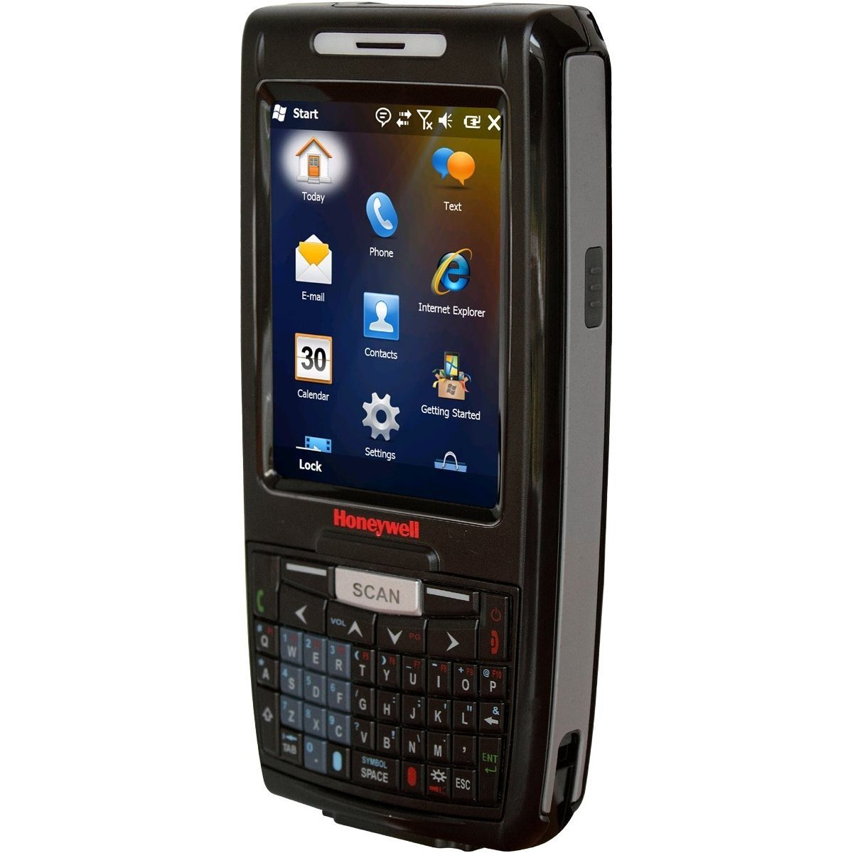 Honeywell 7800LCQ-G0111XEV Dolphin 7800 Mobile Computer, Bluetooth, CDMA and EVDO for Verizon, Extended Range Imager with Laser Aimer, QWERTY, WEH 6.5, Ext. Battery