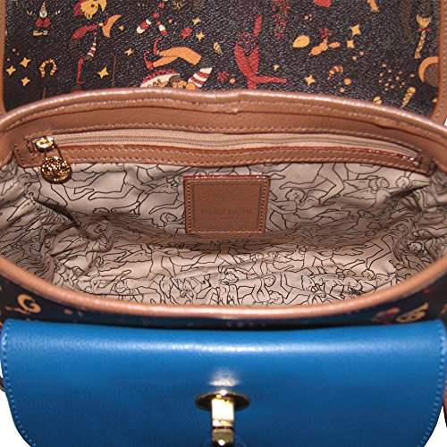 Bolso Para 28x22x12 Piero Marrone Guidi Marrón 5 Circus Magic Mujer Cruzados 5twPwa