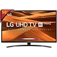 "Smart TV LG 55"" 55UM7470PSA UHD 4K IPS HDR Ativo ThinQ AI Inteligência Artificial, DTS Virtual X"