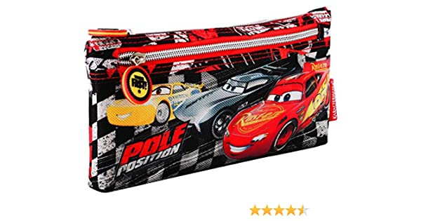 Karactermania Cars 3 Pole Estuches, 22 cm, Negro: Amazon.es: Equipaje