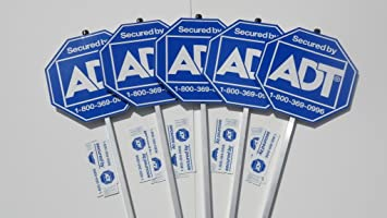 Amazoncom ADT SIGNS FOR SALE ADT Home Security Alarm System - Window stickers for home security