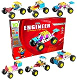JAGGERMART F1 Formula Racer Cars Go-Kart Mechanical, construction & creative toys for Kids Aged + 5 years Quick learners, Multi Skilled, Talented & Gifted Kids & adults.