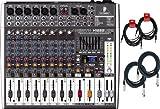 Behringer Xenyx X1222USB Mixer w/ 4 Cables