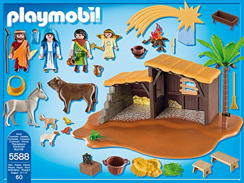 Playmobil navidad bel n for Amazon figuras belen