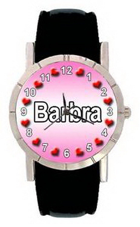 jwl0804名 – Barbraメンズレディース本革クオーツMovement腕時計 B01N4F0FWY