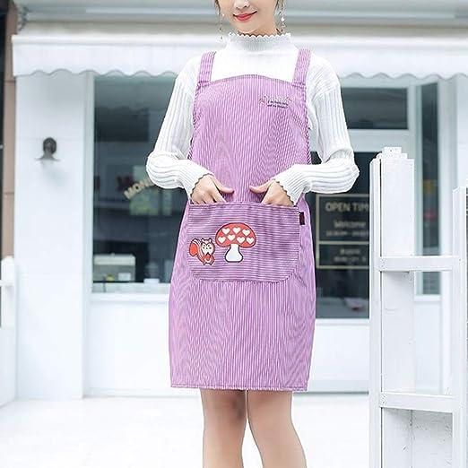 ZhengFei Delantal de Mujer 2PCS / Lot Nuevo algodón Delantal Moda ...