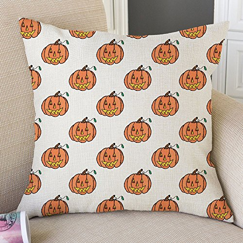 PaigeHamelf Halloween Pillow Covers Decorative Halloween Accent Pillows Pillowcase 18 x 18 Inch For (Typewriter Halloween Costume)