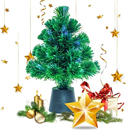 Pequenos Arboles De Navidad Fibra Optica Arbol De Navidad Arbol De - Arboles-pequeos