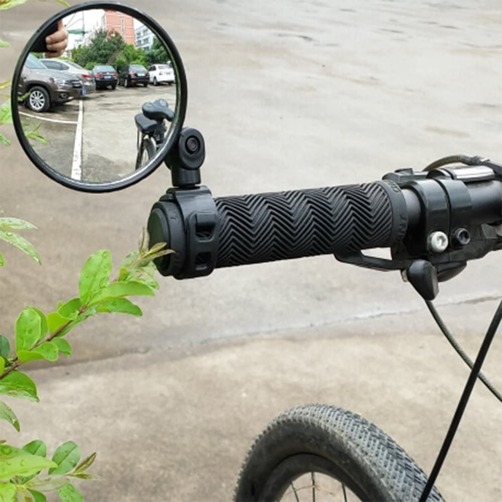 Universal Adjustable Bicycle Handlebar Rear View Mirror