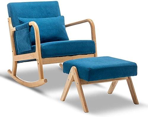 Best living room chair: OKAKOPA Living Room Rocking Chair