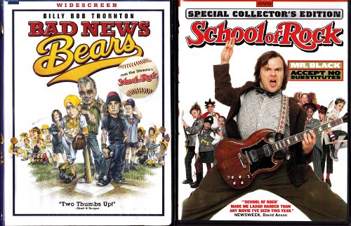 School of Rock , Bad News Bears : Richard Linklater 2 Pack Collection