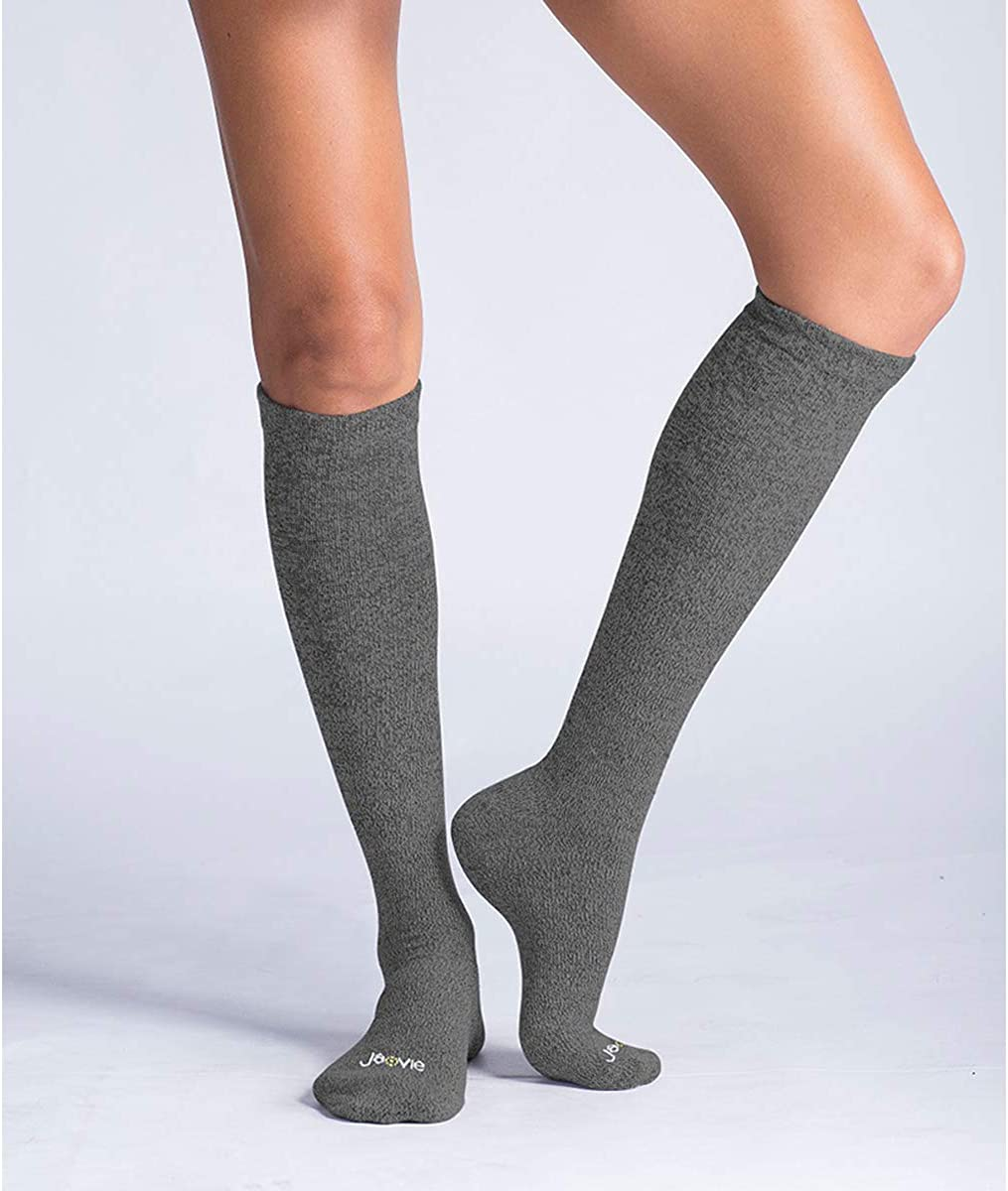 JAVIE 80/% Merino Wool Ultra Soft 15-20mmHg Graduated Compression Socks for Women /& Men