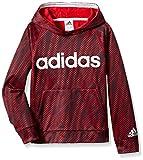 adidas Boys' M Athletic Pullover Hoodie, Scarlet, M