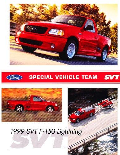 (1999 Ford F-150 SVT Lightning Truck Original Sales Brochure Sheet)