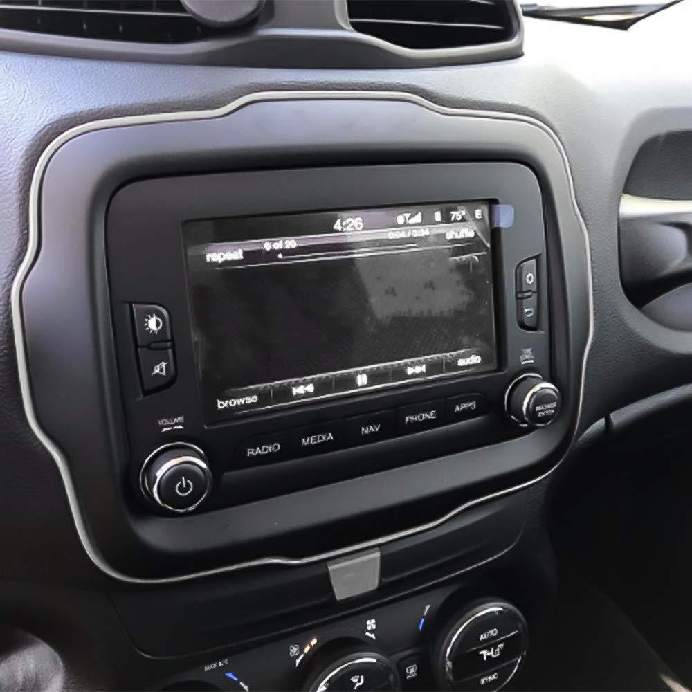 SENZEAL Interni Stampaggio trim,5M assetto flessibile per DIY Automobile Car Interior esterno Stampaggio tagliare linea Striscia Decorativo Blu