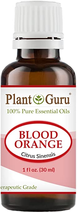 Blood Orange Essential Oil. 30 ml. 100% Pure, Undiluted, Therapeutic Grade. by Plant Guru