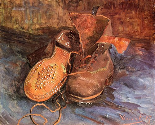 (Vincent Van Gogh - A Pair of Shoes Baltimore Museum of Art 30