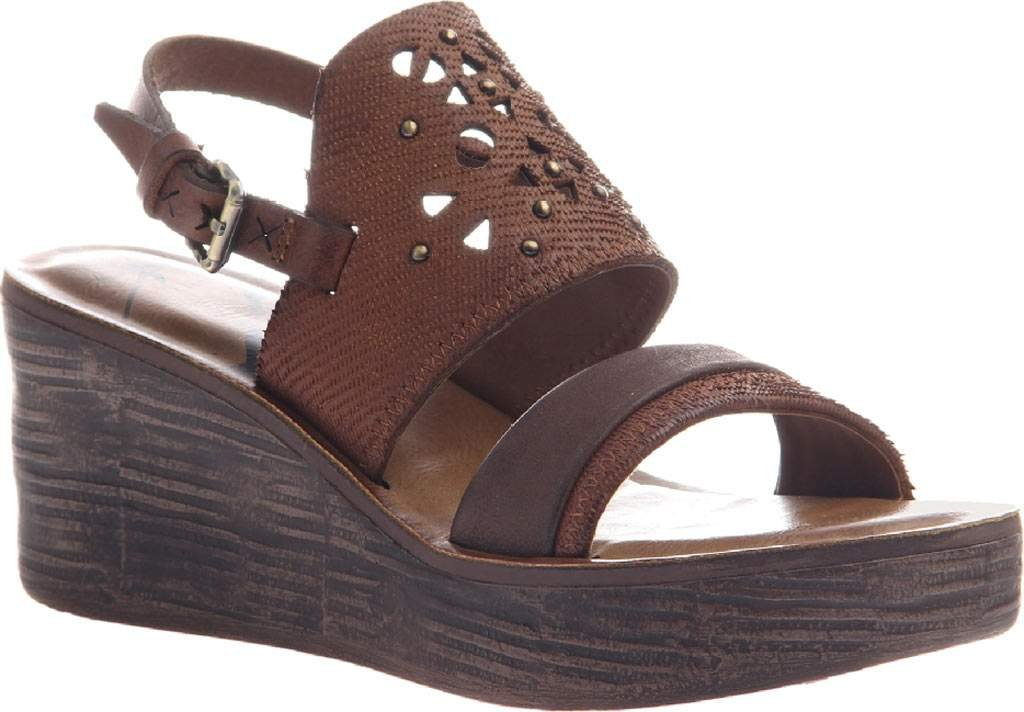 OTBT Women's Hippie Wedge Sandal B06XJ1VYMP 6.5 B(M) US|Oak Leather