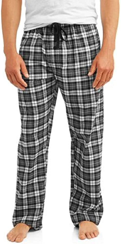 Hanes Men's & Big Men's Woven Plaid Stretchy Sleep Pant at  Men's Clothing store