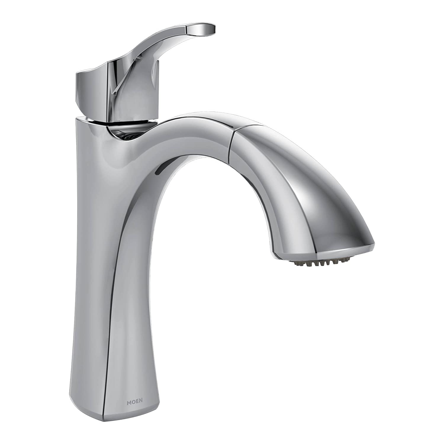 Moen Voss One-Handle High Arc Pullout Kitchen Faucet Featuring ...