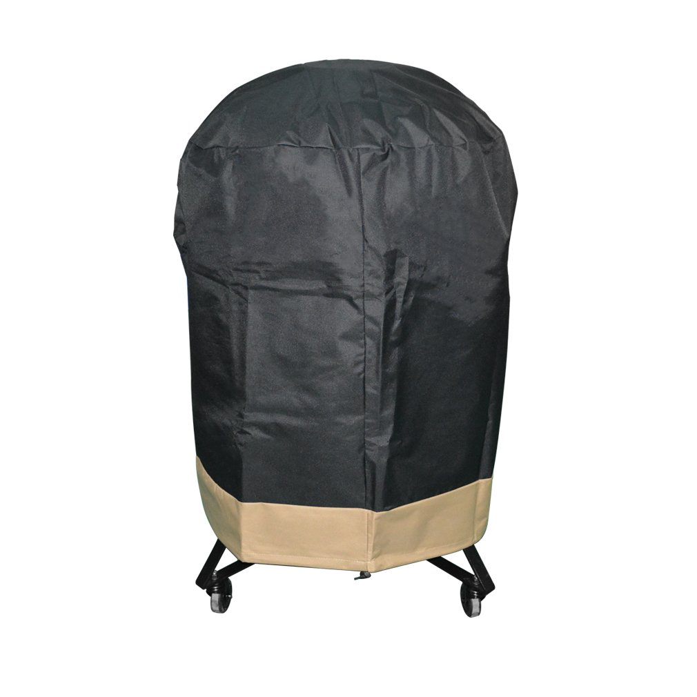 "Onlyfire Kamado Grill Cover Fits for Large Big Green Egg,Kamado Joe Classic and Stand-Alone,Large Grill Dome,Louisiana K22,Coyote The Asado Cooker and Other,30"" Dia X 34"" H"