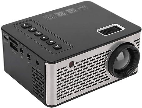 Wendry Mini proyector Inteligente, 1080P 4000 Lumens Proyector LCD ...